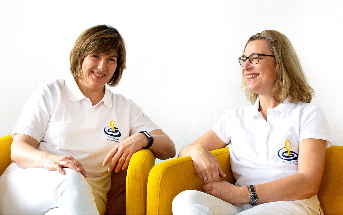 Sabine Eßl und Anna Schubert